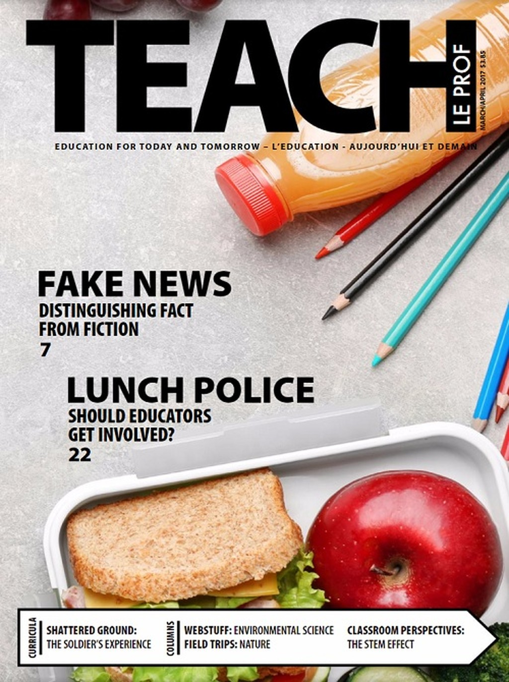 TEACH Magazine cover
