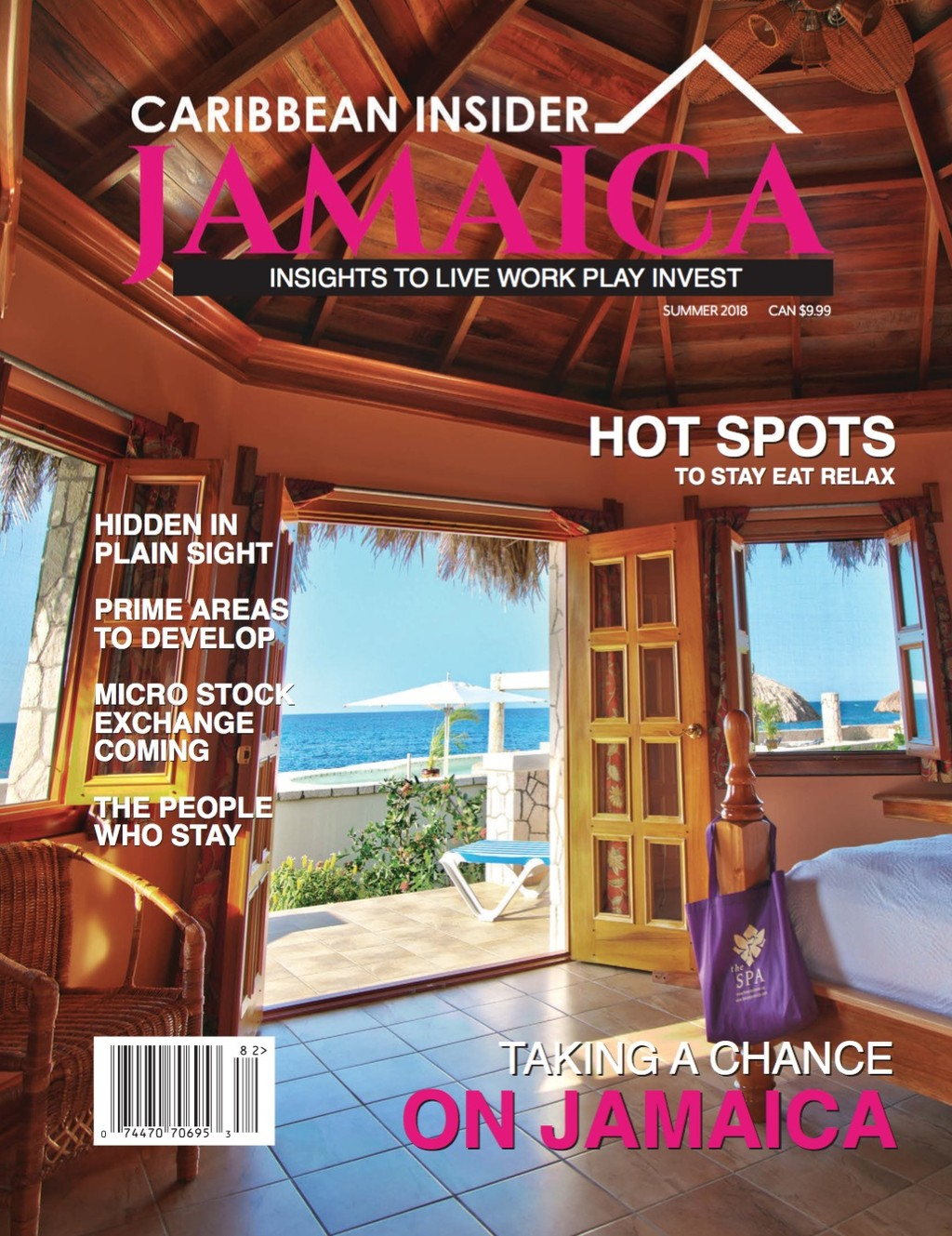 Cover of Caribbean Insider, Jamaica