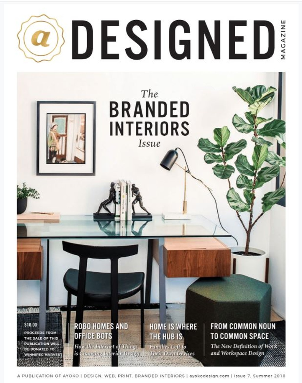 Cover of aDesigned Magazine
