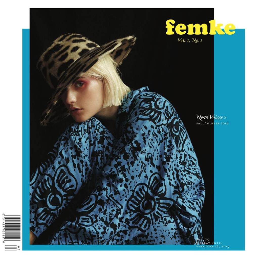 Cover of Femke magazine, Fall/Winter 2018 issue