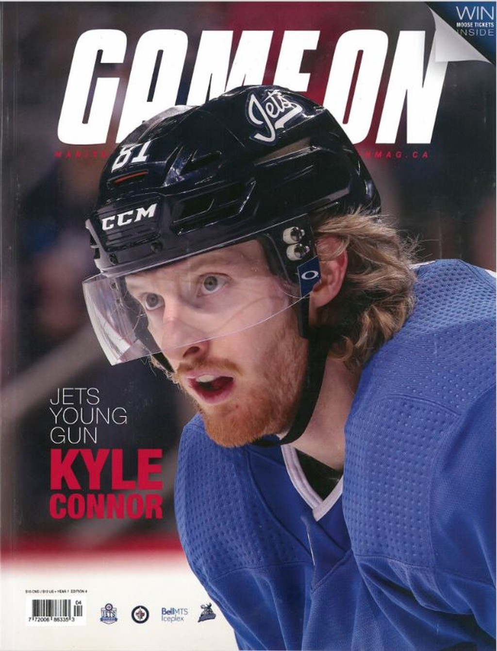 Cover of Game On magazine, 2018–19 preview edition