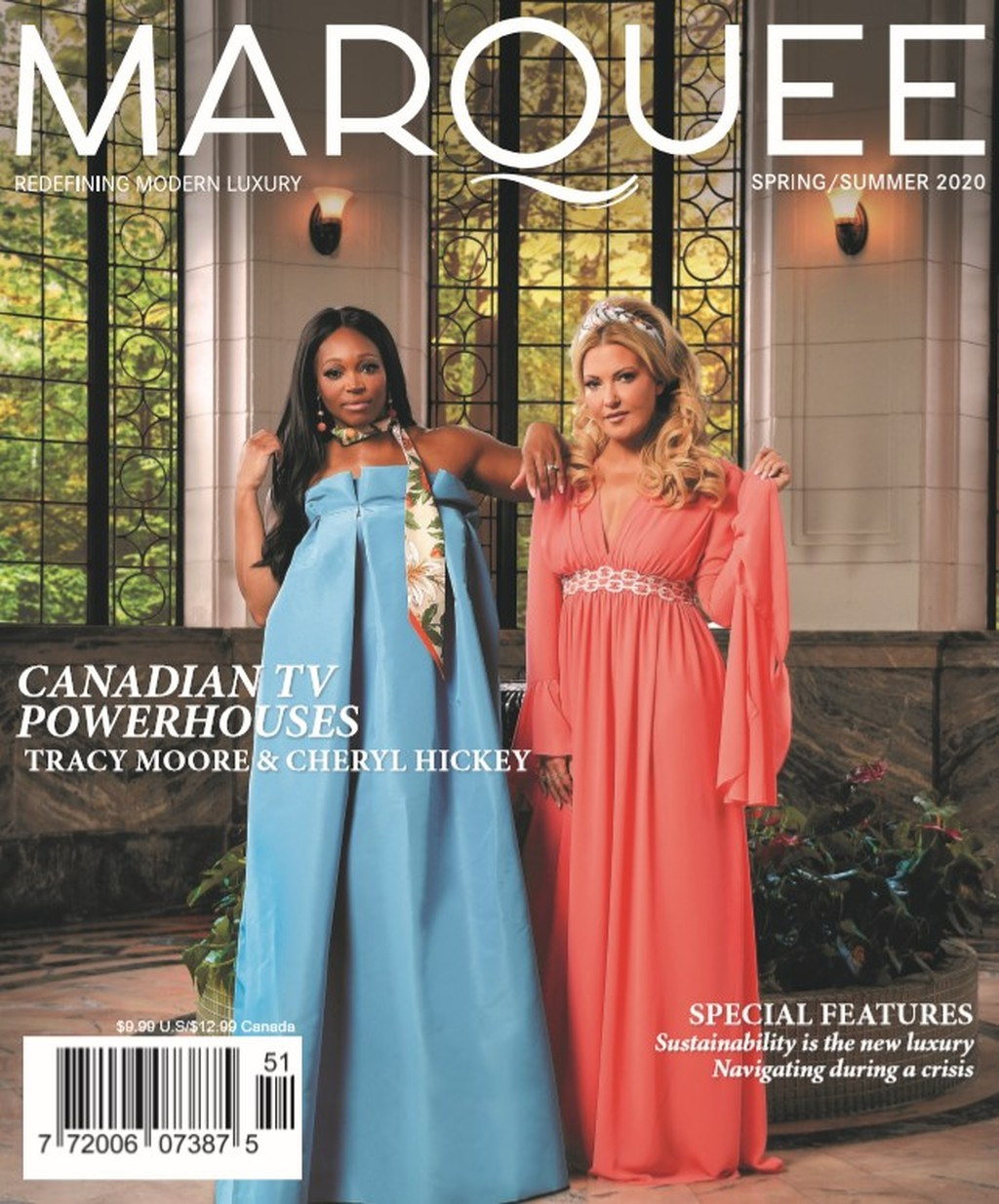 Cover of MarQuee magazine, Summer 2018 issue