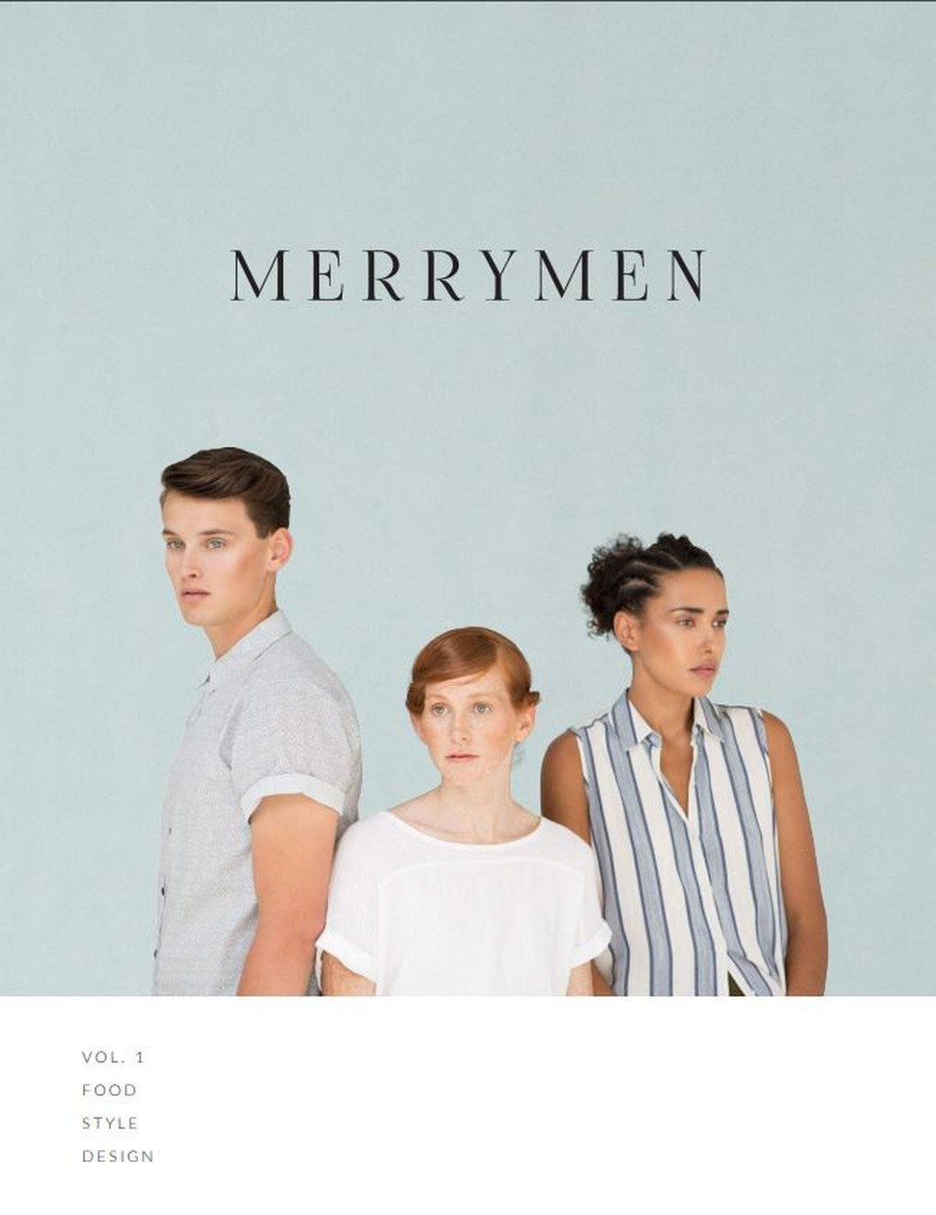 Cover of Merrymen magazine