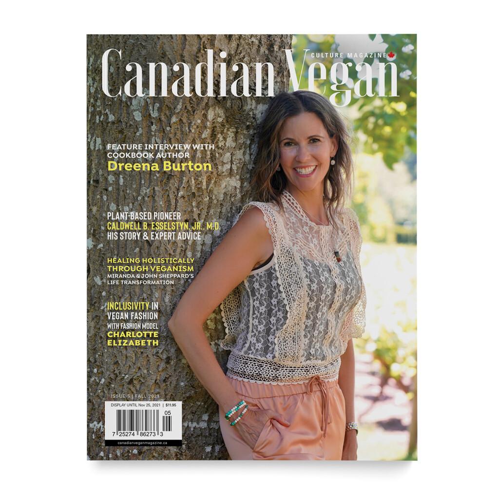 Cover of BC Vegan magazine