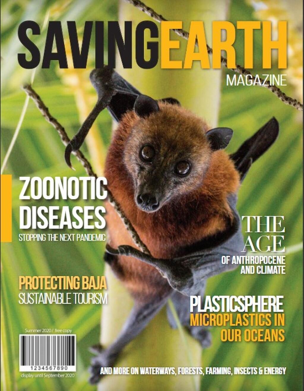 Cover of Saving Earth Magazine