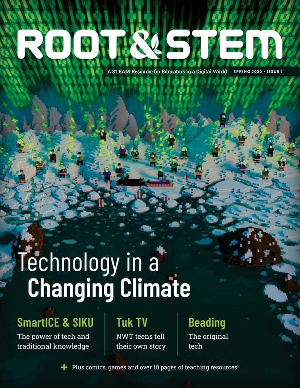 Cover of Root & STEM Magazine