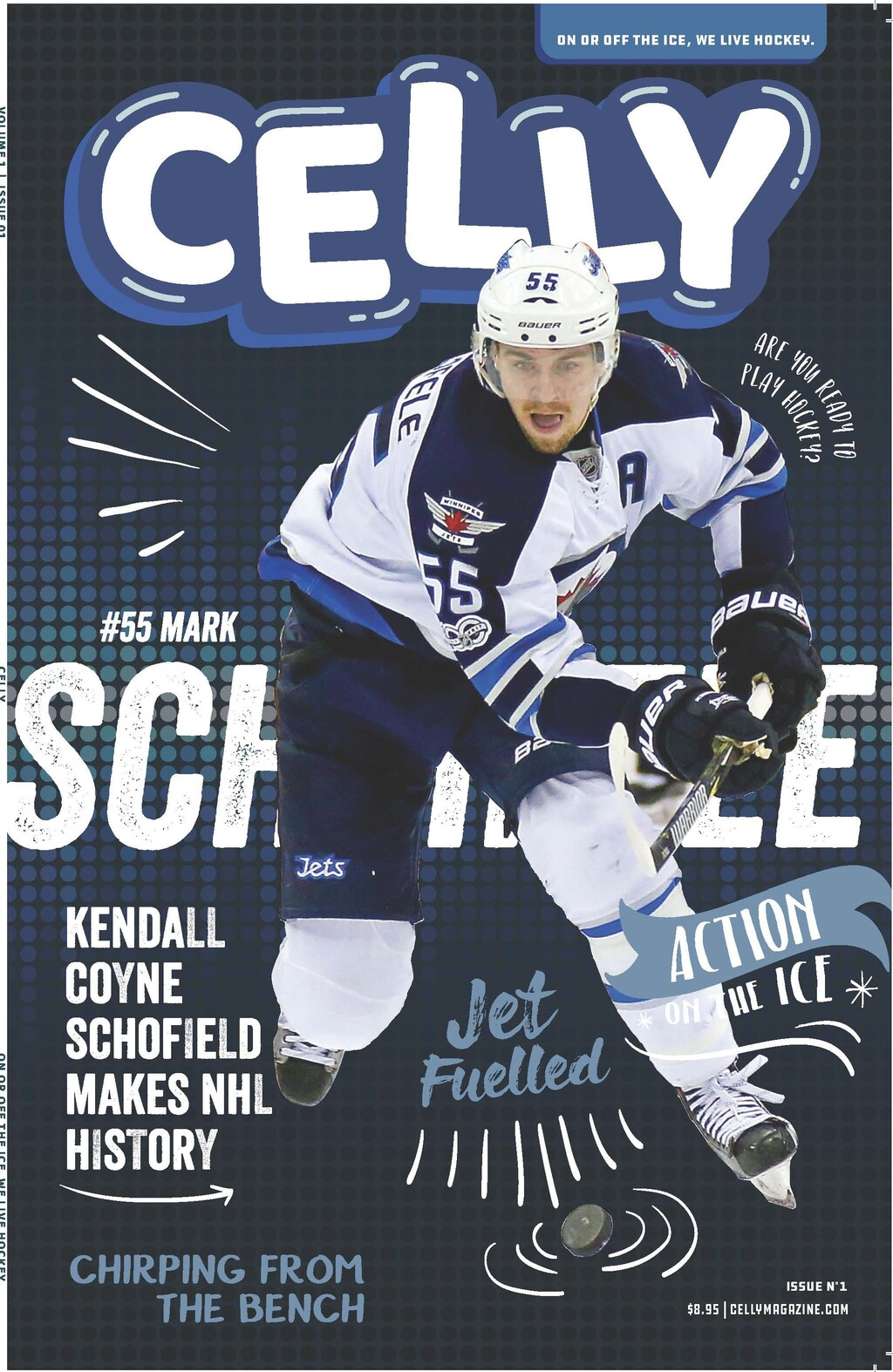 Cover of Celly Magazine