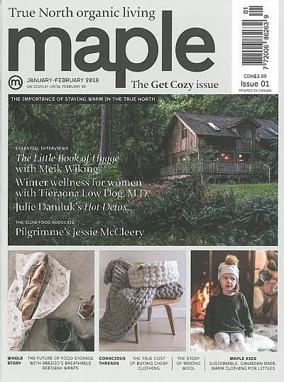 Maple magazine cover