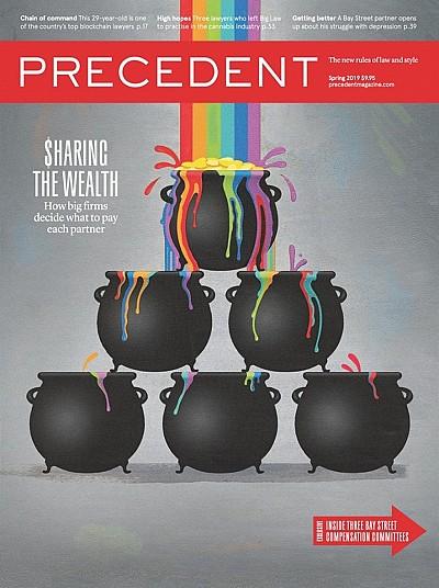 Precedent magazine cover