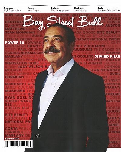 Bay Street Bull magazine cover