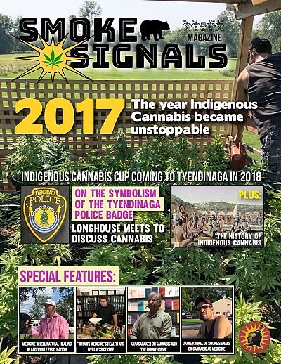 Cover of Smoke Signals magazine.