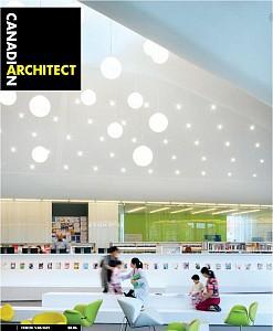 Cover of Canadian Architect magazine